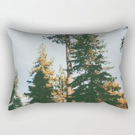 Snow Summit, Big Bear, CA Rectangular Pillow