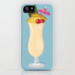 Tropical Piña Colada iPhone Case