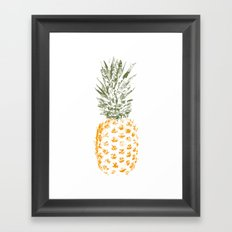 Pineapple I Framed Art Print