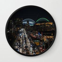 Alaska Way Viaduct Wall Clock