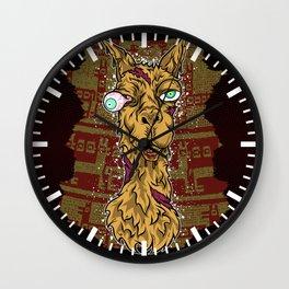 Don't mess with the llama! Wall Clock