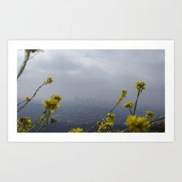 Sea of Yellow Art Print