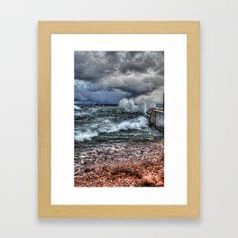 October on Superior Framed Art Print