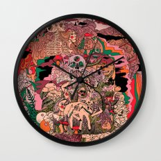 Village of Forest Wall Clock