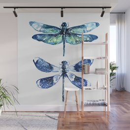 Dragonfly Wings Wall Mural