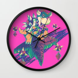 Bowser in the Sky Wall Clock