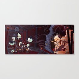 Chinese Gold Canvas Print