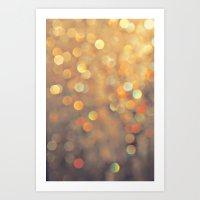 sparkles Art Prints featuring Sparkles by Julia Eriksson