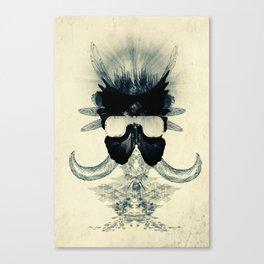 A black angel from Aksoum Canvas Print