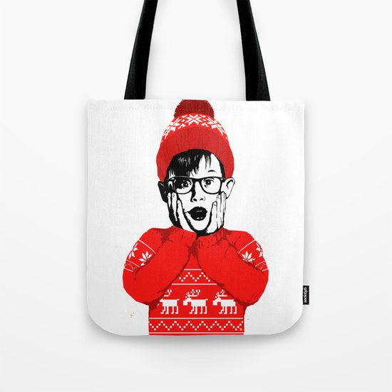 home alone Tote Bag