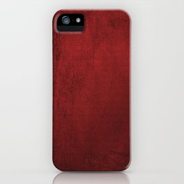 red moments iPhone Case