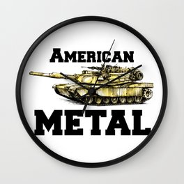 American metal  m1 a Wall Clock
