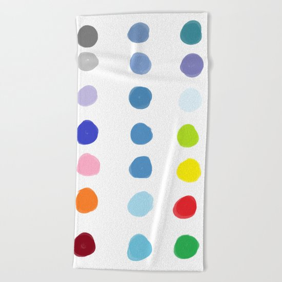 Color Palette Beach Towel