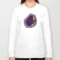 geode Long Sleeve T-shirts featuring Geode by splendidhand