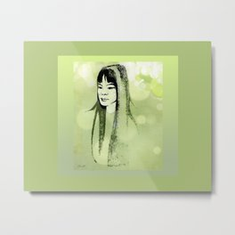Eastern Princess Metal Print