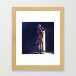 Night Snack Framed Art Print