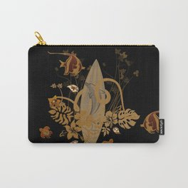 Hawaiian, tropical design Carry-All Pouch