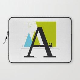 A a Laptop Sleeve