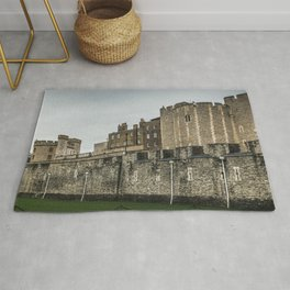 Tower of London Outer Curtain Wall England Rug