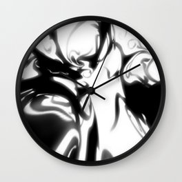 Ink Blot 05 Wall Clock