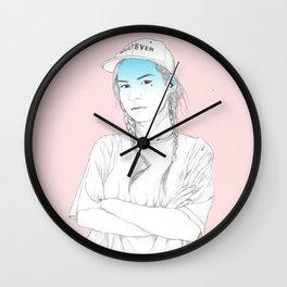 lauraud Wall Clock
