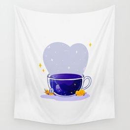 Universe Tea Bag Wall Tapestry