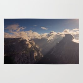 Sunrays Over Half Dome Rug