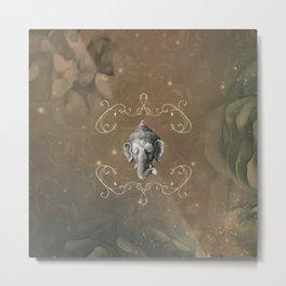Ganesha, Hindu god Metal Print