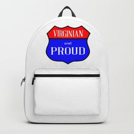 Virginian And Proud Backpack