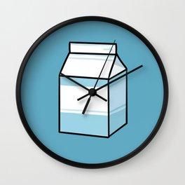 Milk Carton Wall Clock