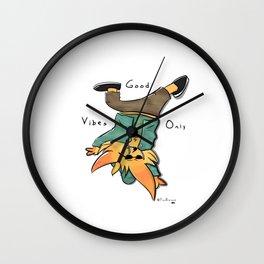 G O O D V I B E S Wall Clock