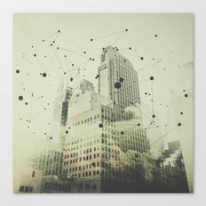 Particles Canvas Print