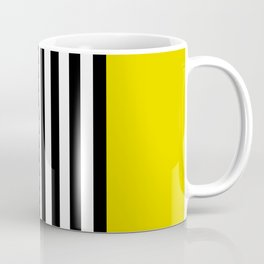Liquorice allsorts, yellow Coffee Mug