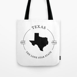 Texas - The Lone Star State Tote Bag