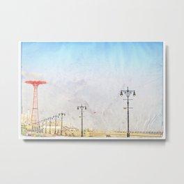 Brooklyn's Eiffel Tower Metal Print