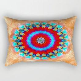 Go Back In Time - Mandala Rectangular Pillow