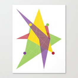 Abstract Trapezoid Canvas Print
