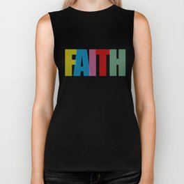 Faith (Color) Biker Tank