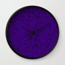 Geometric crazy Wall Clock