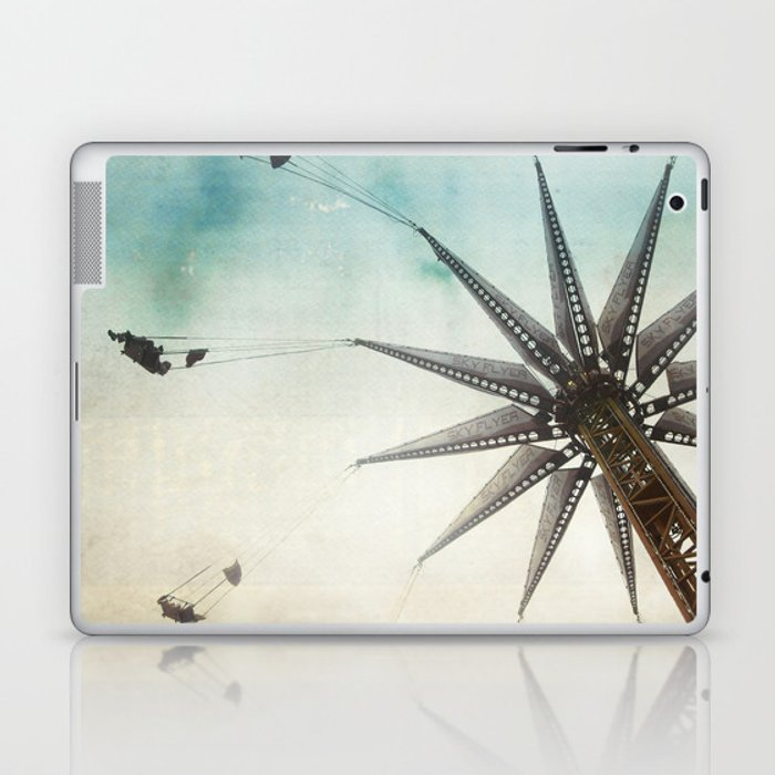 on the edge Laptop & iPad Skin