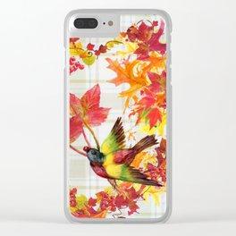 A Grateful Heart Clear iPhone Case