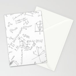 As Calculus Goes to Infinity... Stationery Cards