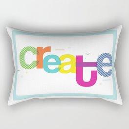 Create ! Rectangular Pillow