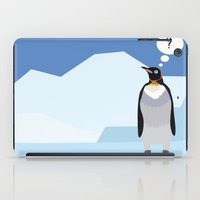 penguin iPad Cases featuring Penguin by Nir P