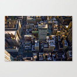 Top of the Empire #1 Canvas Print