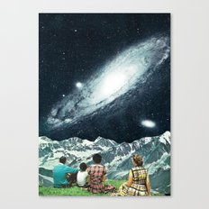 Family Picnic Canvas Print