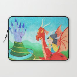 The Girl and The Dragon Laptop Sleeve