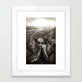 JONAH - SANS TEXT Framed Art Print