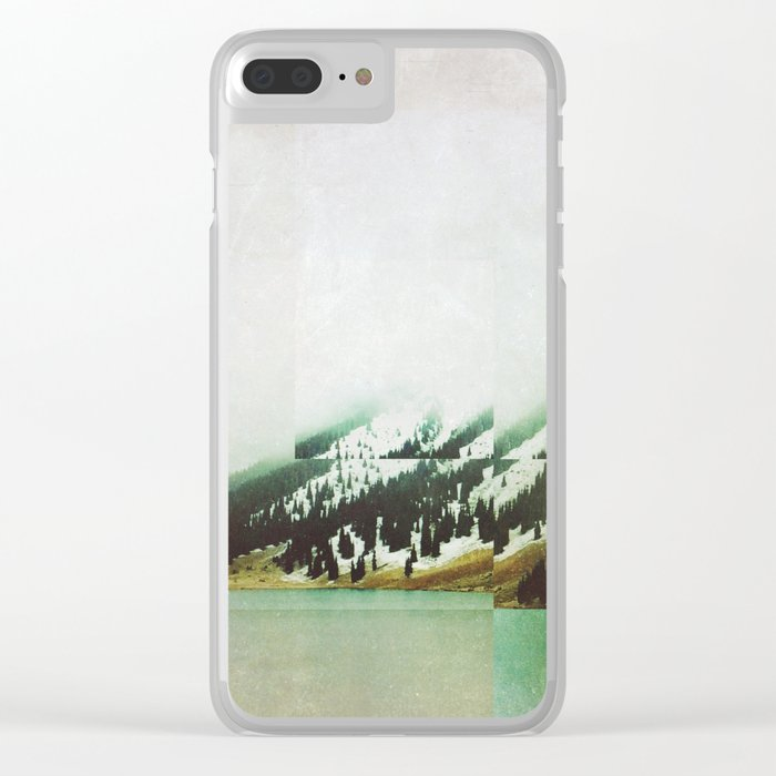 Fractions A72 Clear iPhone Case