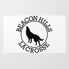 beacon hills lacrosse Rug